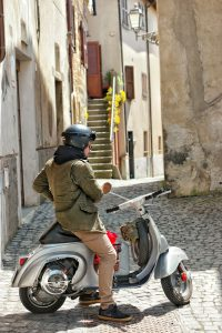 Family Travel Bucket List Destination Orvieto Italy Vespa