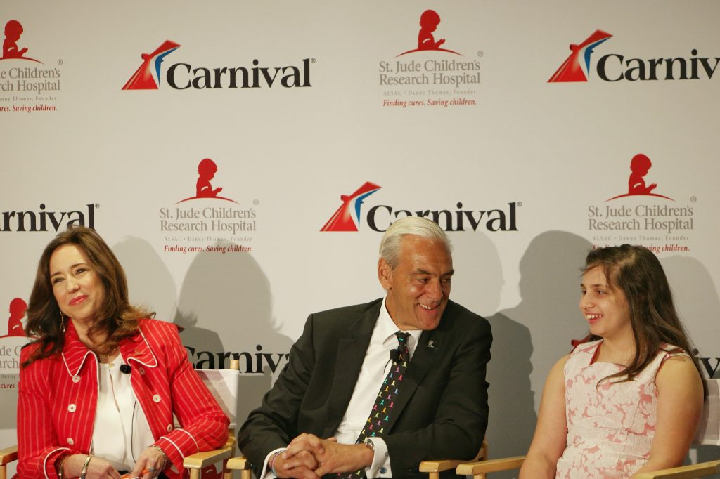Carnival Cruise Christine Duffy St. Jude Richard Shadyac Jr.