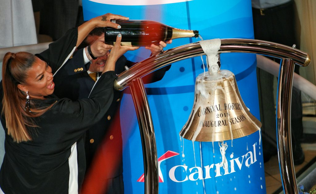 Carnival Horizon Naming Ceremony with Queen Latifah