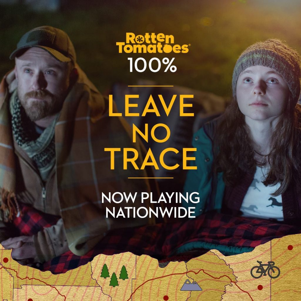 leave no trace 100% rotten tomatoes