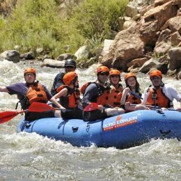 Dynamic Water (Life Lessons From Whitewater Rafting Down The Arkansas River in Colorado)