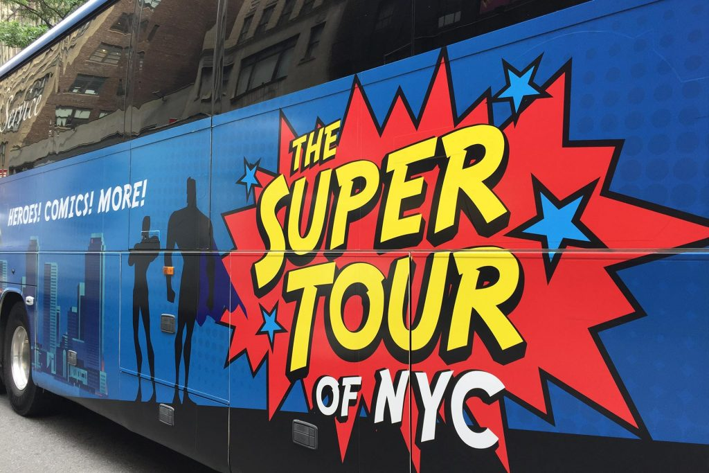 Find out how to travel to superhero destinations!