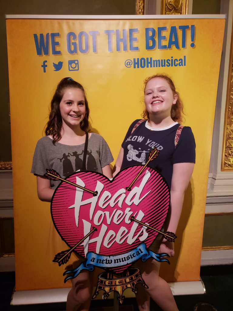 Head Over Heels Musical Broadway Photo Booth