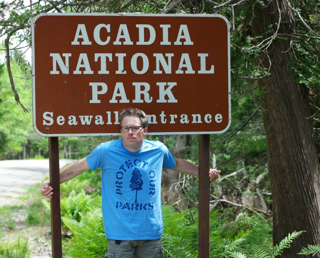 Hanes x National Park Foundation shirts Acadia National Park