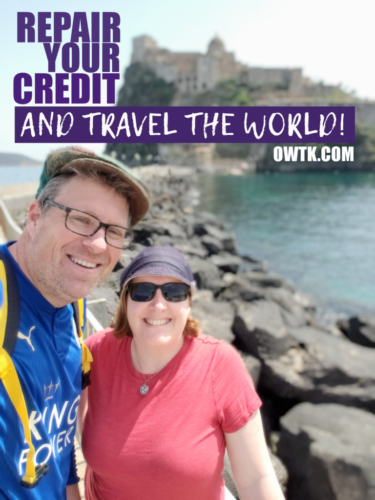 Repair your credit and travel the world debt free