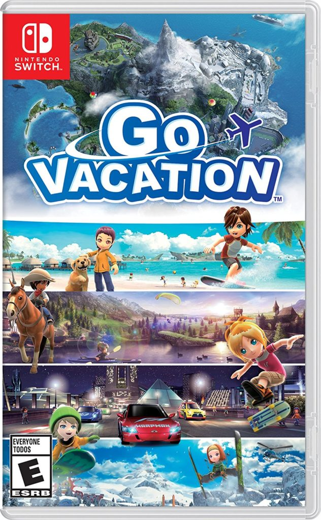 Gift for Tween Girls Go Vacation Switch
