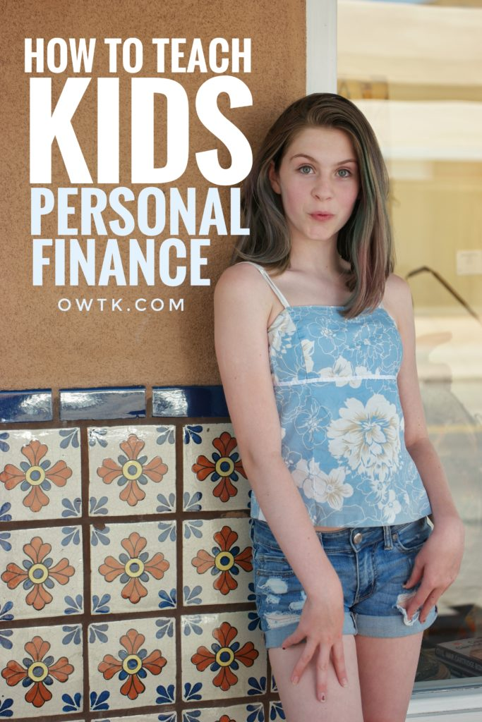 Teaching kids personal finance