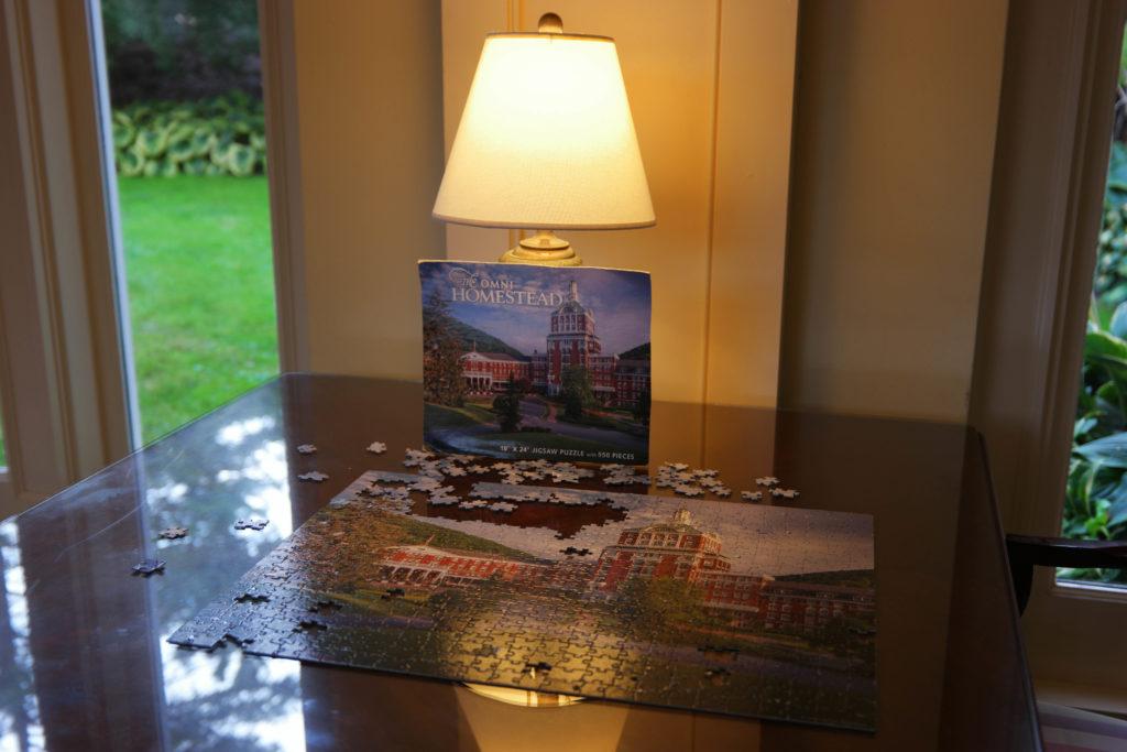 Omni Homestead Puzzle in Lobby