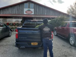 2019 Chevy Silverado Christmas Tree Farm Experience_Yeagers Tree Farm Christmas Tree