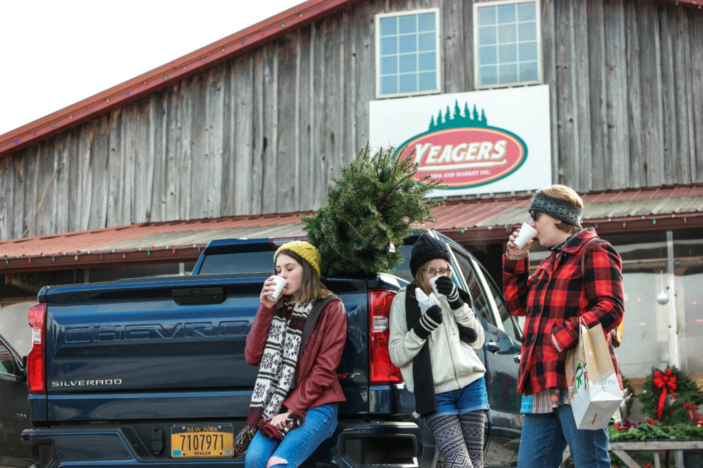 2019 Chevy Silverado Christmas Tree Farm Experience