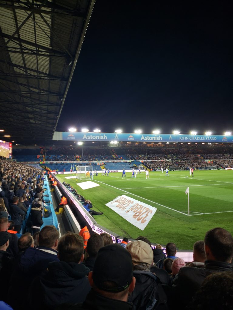 Leeds United V Ipswich Elland Road Oct 2018