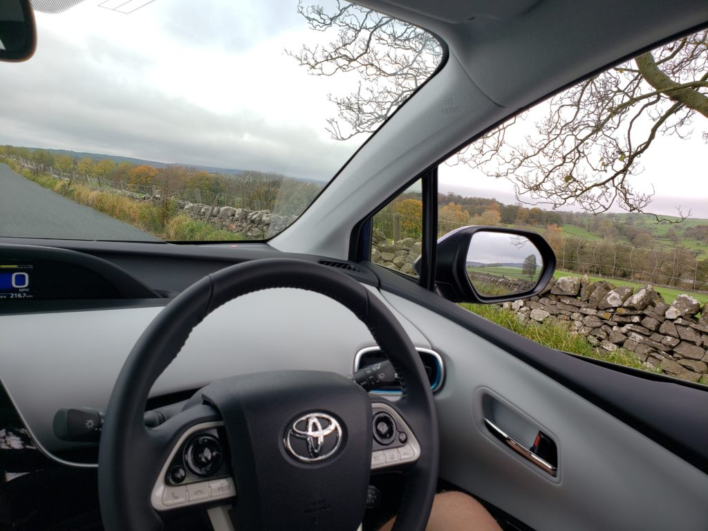 The Toyota Prius that saved my life in England