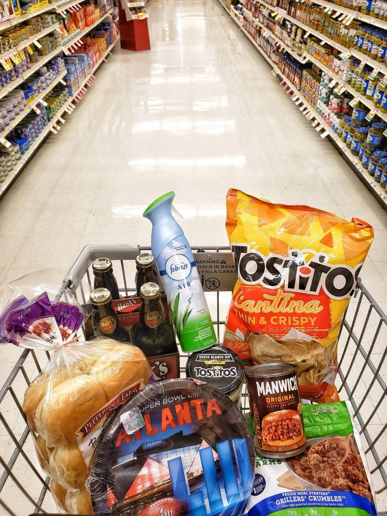 Super Bowl Party Prep with Febreze Shopping List