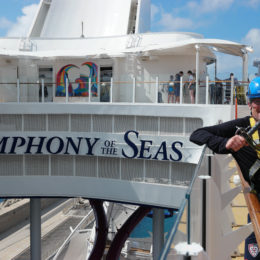 Royal Caribbean Zipline photos