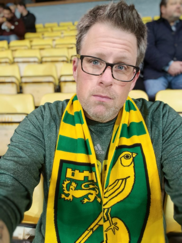 Norwich City Carrow Road First Game No One Plans To Die in Ipswich