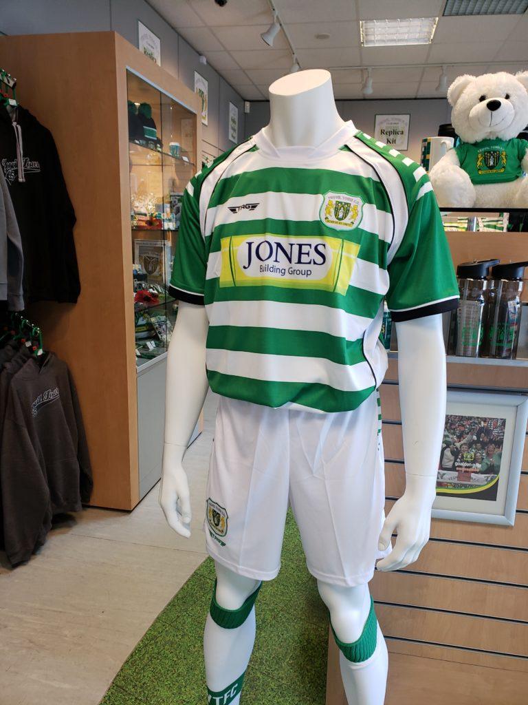 Yeovil Town Football Club Kit