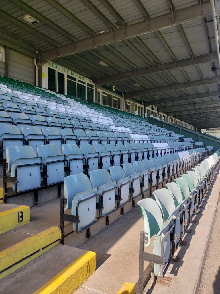 Yeovil Town Football Club Huish Park Stand
