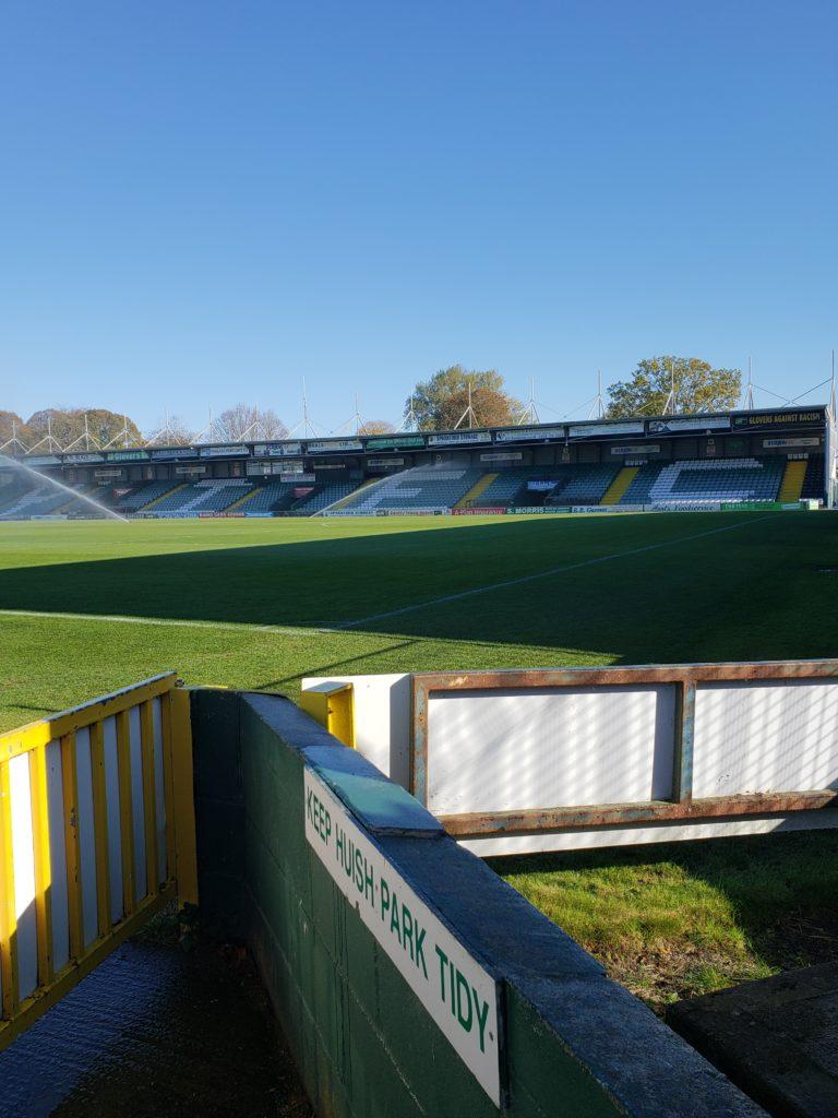 Yeovil Town Football Club Huish Park