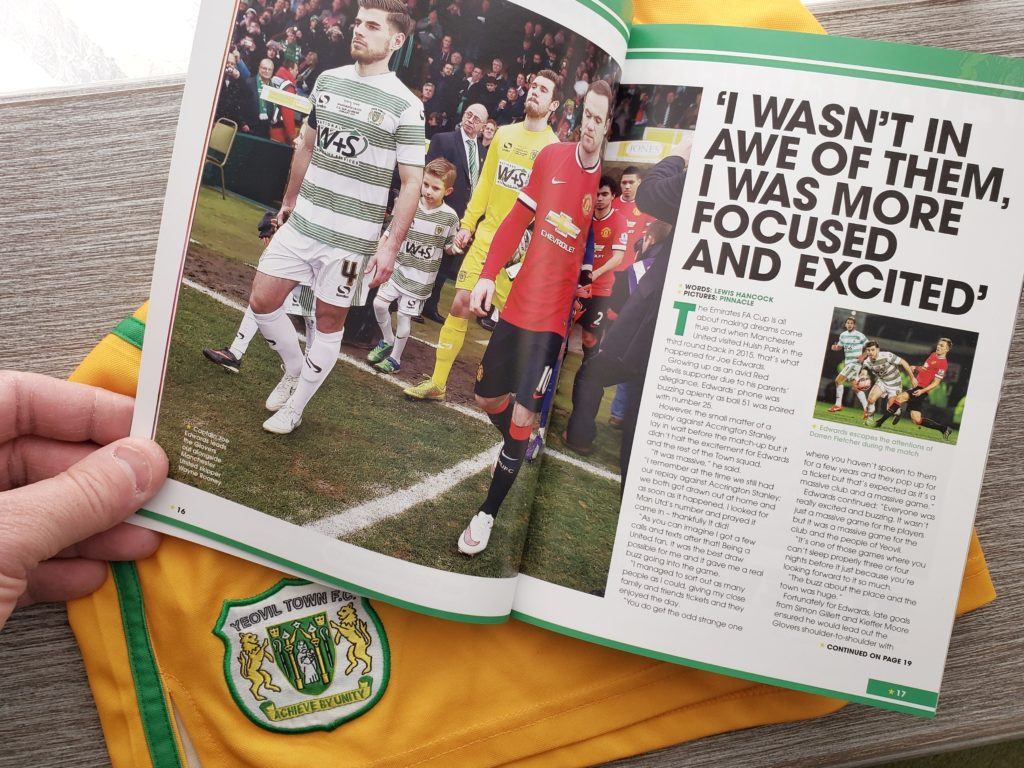 Yeovil Town Football Club Manchester United FA Cup