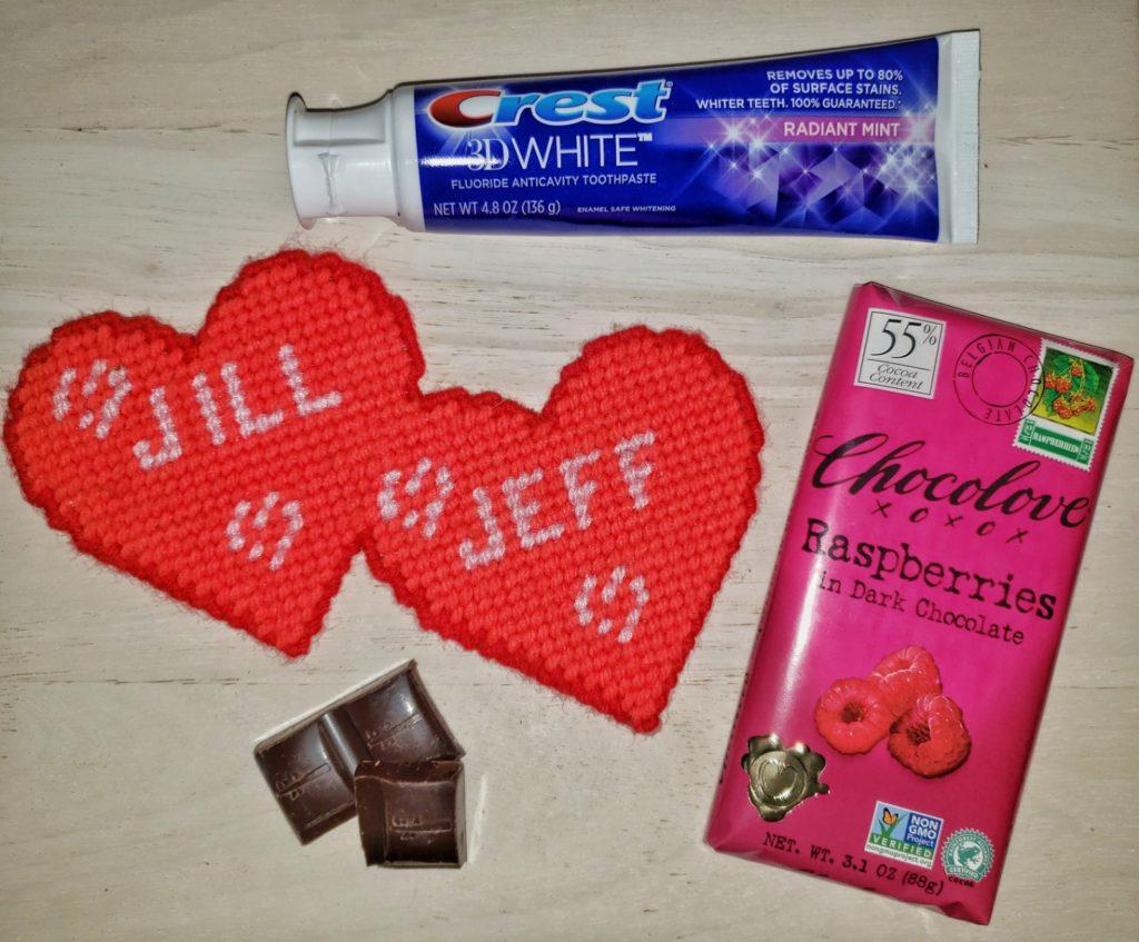 Crest 3D Radiant Mint Valentine's Day