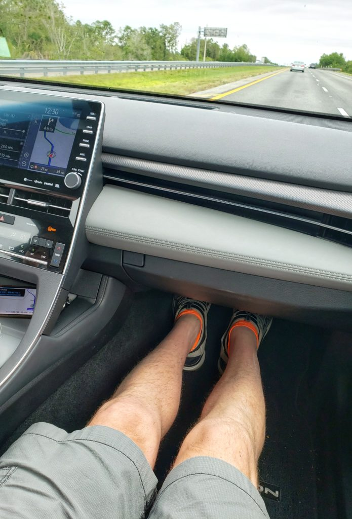 Conversations in Cars 2019 Toyota Avalon Touring Legroom