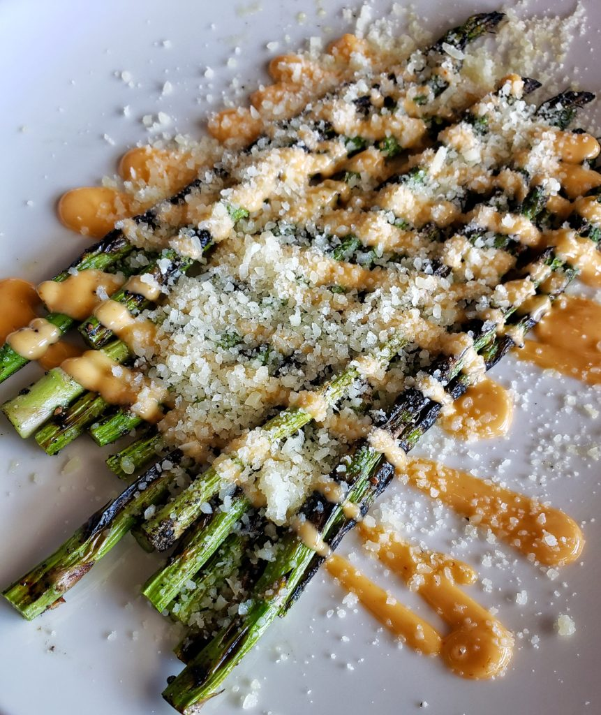 The Met Downtown Cheyenne Grilled Asparagus