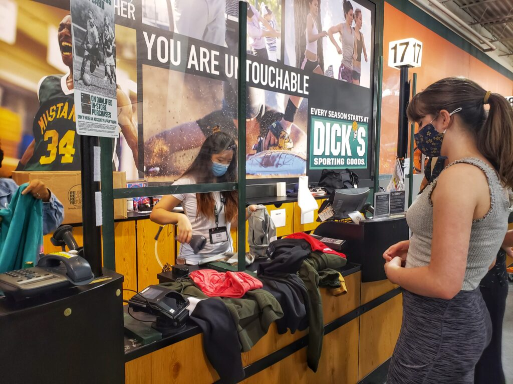 Dick's Back to School Shopping